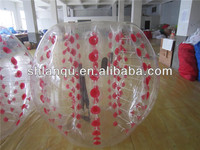 Free Shipping PVC0.8mm Transparent Inflatable Bumper Ball Prices