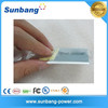 rechargeable micro 2mm thickness 200mah 3.7v lithium li-ion polymer battery for small device