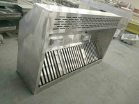 Chinese Customized Commercial Kitchen Stainless Exhaust Range Hood