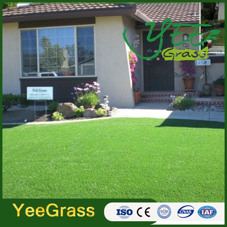 New antique artificial outdoor synthetic grass