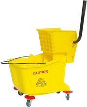Popular plastic mop bucket with drawer magic mop price