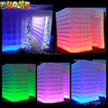 LED inflatable photo booth.lighting inflatable tent for photo booth