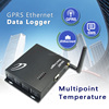 Multipoint Temperature gprs/sms Data Logger solar power systems