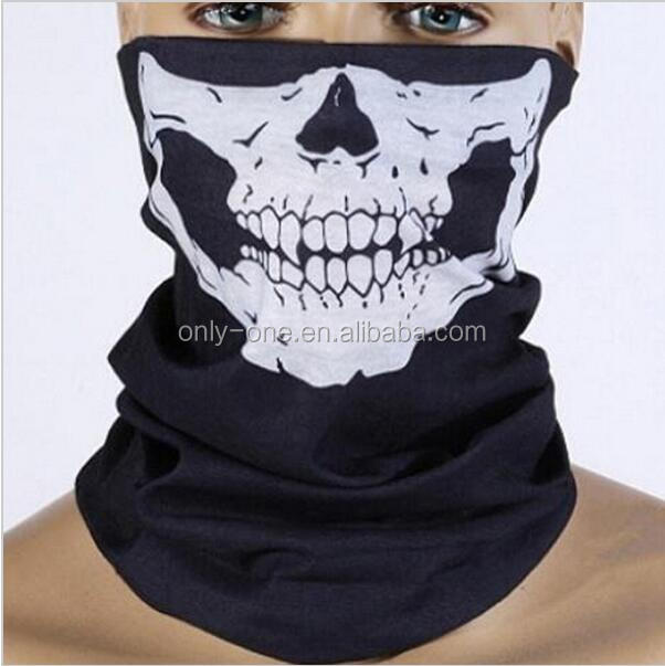 Motorcycle Bandanas Wears Seamless Tubular Bandana Multifunctional Bandana Ski Skull Headband Head Scarf For Women Muffler Cap