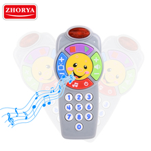 Crazy selling electronic toy mobile phone toy for kids light up cheap kids smart dialogue music mobile phone toys