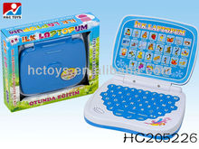 New kids Turkish laptop learning machine , educational toy computer HC205226