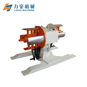decoiler  automatic manual uncoiling machine