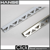 HS-UP43 metal stair nose trim,stair edge trim,aluminum stair nose trim