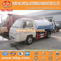 FOTON 4X2 2000L good quality factory sale water tank truck light truck