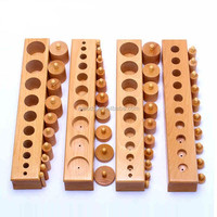 Kindergarten furniture montessori knobbed cylinder block