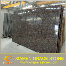 Baltic brown standard granite slab size