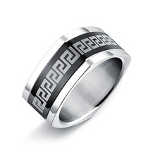 Marlary Wholesale Simple Design Jewelry Type Rings Price In Pakistan Stainless Steel Men Ring