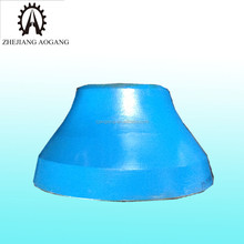 cone crusher spare parts High Manganese steel casting grate mantle and concave
