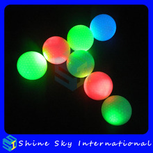 Cheap Unique Flashing Golf Ball For Night