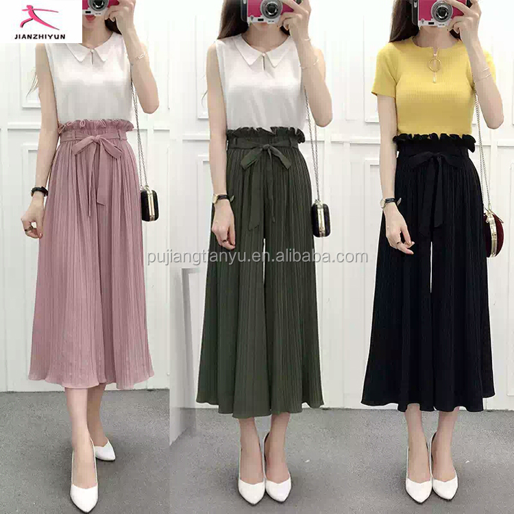New season popular baggy Wide pants online wholesale Hippie Hip-hop women harem pants