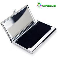 cheap stainless steel DIY shop business card holder or name card holder box