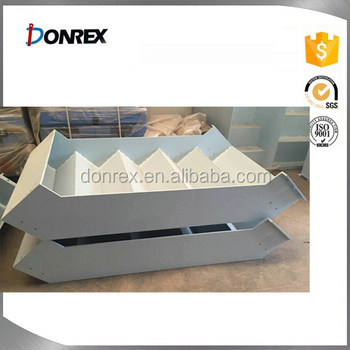 China manufacturer Aluminum metal case with white powder coating