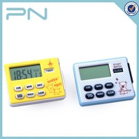 Multi-fuction Plastic Small Digital Timer