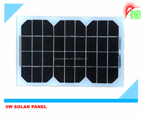 12V 5W Mono/Poly solar panel sell in India