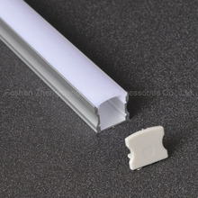 Export quality aluminum profile Anodized led extrusion, led profile for led tapes