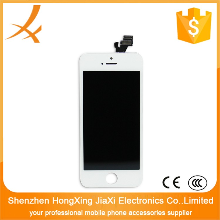 For apple iphone 5 lcd with digitizer touch screen,mobile phone lcd display touch screen digitizer for iphone 5 5g