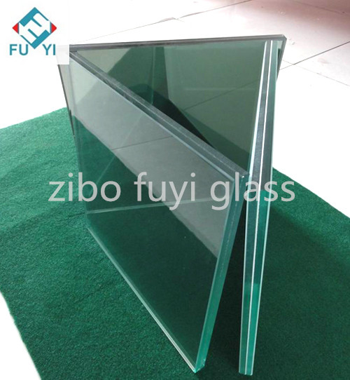 high quality 6.38mm clear laminated glass of building made in China