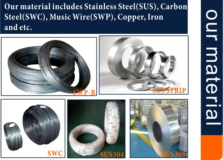 China Factory Supply Stainles Steel 302 Wire Forming for Fire Extingguishers