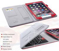 Alibaba China Luxury PU Leather Tablet Pc Case With Keyboard For Apple iPad Air 2