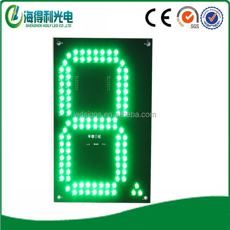 "Hidly 8"" digital Advertising Board WithMeanwell Power Supply For Gas Station"