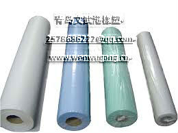 Dry cleaning poly inner bag on roll