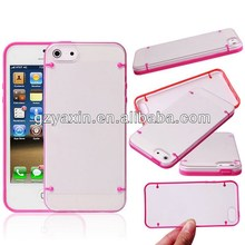 Led phone case for iphone 5c,Special design LED case for iphone 5, for iphone accessories