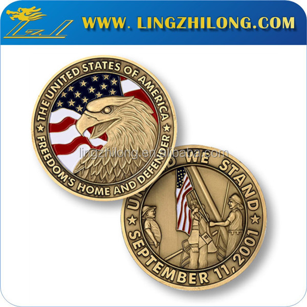 Promotional metal custom novelty coin