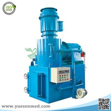 Cheap smokeless garbage electronic waste incinerator machine