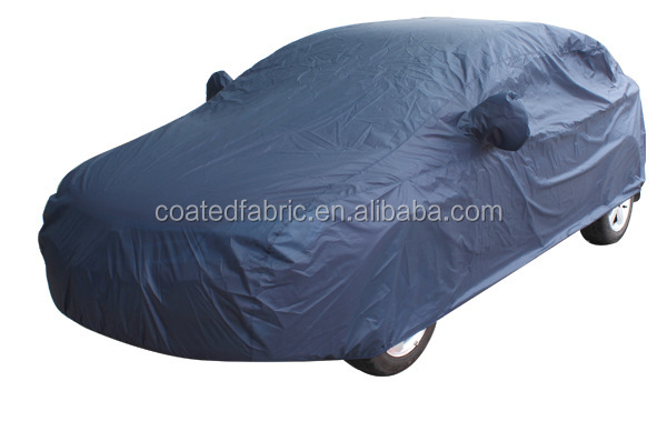 peva and non-woven fabric backing car cover fabric