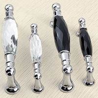 Unique Style Crystal Drawer Door Pull Handle Furniture Handles And Knobs