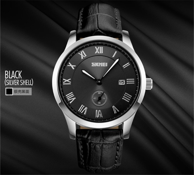 Janpan Movement Hot Sale Mens Quartz Stainless Steel Back Watches