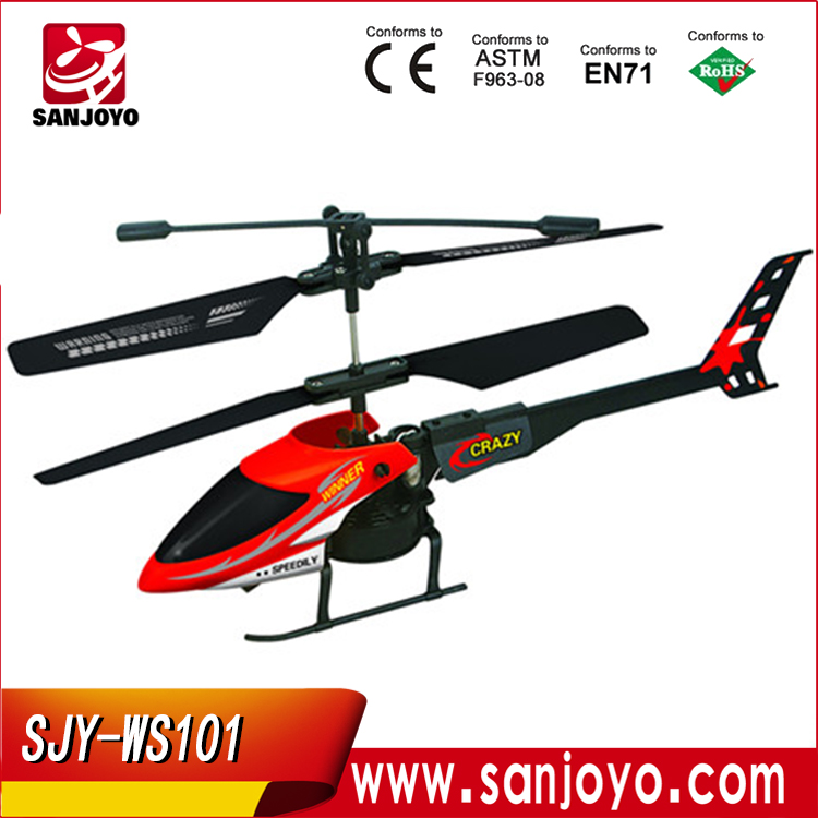 Promotion!cheap SJY-WS101 helicopters for sale 2ch rc helicopter metal remote control
