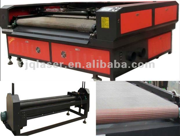 samples fabric/textile strip laser cutter with camera price