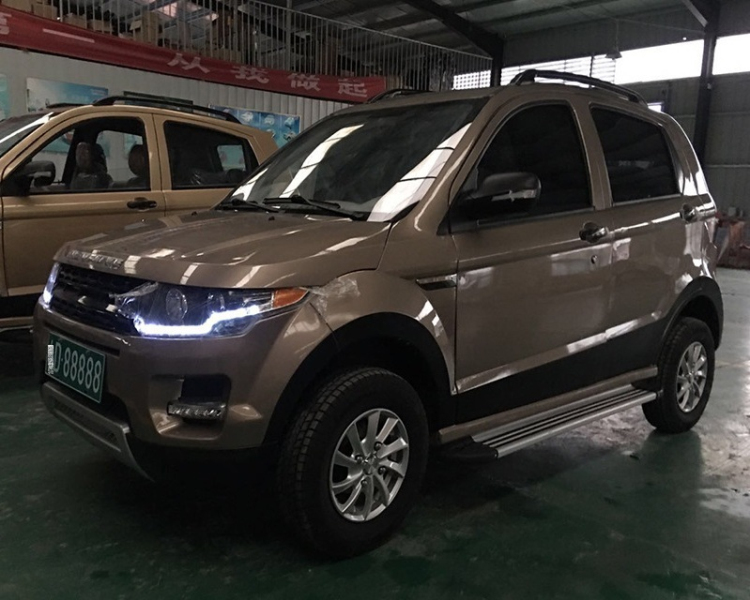 Electric SUV with Gel battery and AirBag 3500W motor 5 passengers new energy car china