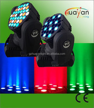 High quality 36LED 108w LED Moving Head DJ Light RGBW Party Club beam wedding show event stage Lighting