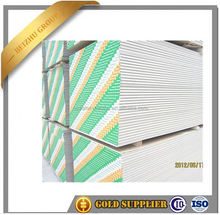 Popular 12mm thick gypsum board price for partition