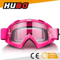 CE safety off road sports wholesale custom motorbike fog proof motocross goggles