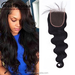 New Arrival full cuticle cheap brazilian human hair lace closure for black women,remy brazilian human hair weave with closure