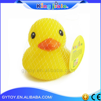 Bath Cute Baby Toy Yellow Rubber Duck , promotional rubber duck , custom rubber duck