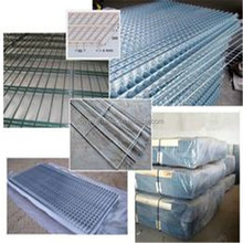 decorative welded wire mesh panel/aviary cage panels galvanized