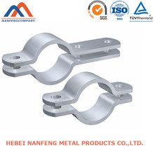 Process Electric Pole Clamp Anodized Aluminum Folding Electric Pole Clamp