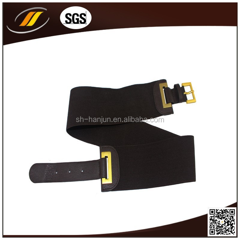 2015 Fashion Elastic Stretch Belt , PU Belt , Woman Waist Belt