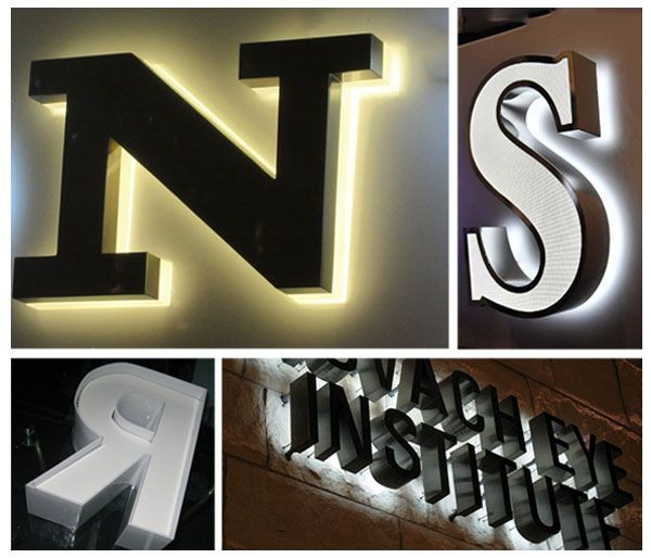 3d Molded Acrylic Led Lighting Letters