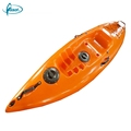 Cheap plastic kayaks rotomolded lightweight small plastic rowing fishing boat