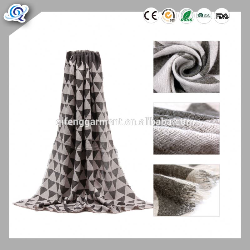 Manufacturers Of High Quality Wholesale 50S Muslim Women Long Scarf/Voile Fabric